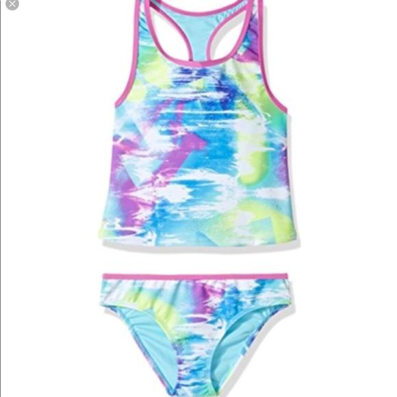 357bbb2b8f331 Under Armour Swim | Hpunderamour Girls Size 14 Two Piece Suit | Poshmark